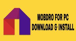 mobdro for windows